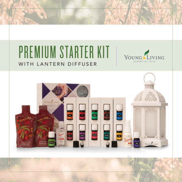 Young Living Starter Kit with Lantern Diffuser